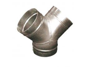 Odbočka TMY 100/100 mm kovová Zn