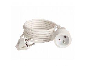 Prodlužovací kabel  2m/1zásuvka 3x1,0 bílá
