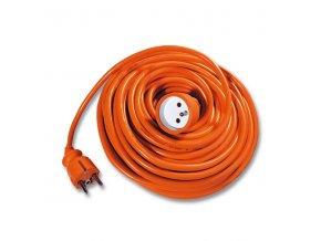 Prodlužovací kabel 15m/1zásuvka 3x1,0 oranžová FX1-15