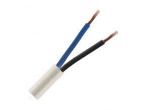Kabel CYSY 2Dx1,5  kulatý bílý