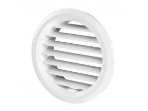 Větrací mřížka kruhová  50 mm MV 50/2 bV bílá /2 kusy
