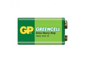 GP baterie Greencell 9V / 1604G