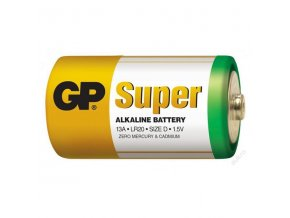 Baterie D (R20) alkalická GP Super Alkaline