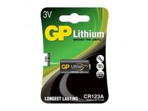 GP baterie Lithium CR 123A  / 3V