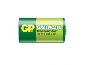 GP baterie R14 /C Greencell malé mono 1ks