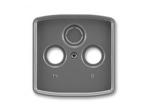 Kryt Tango 5011A-A00300 S2 zásuvky TV s vylamovacím otvorem