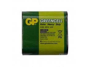 GP baterie Greencell plochá / 3R12, 4,5V