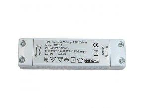 LED transformátor, trafo 12V/ 10W ETL10 napěťový