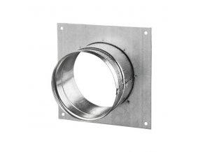Příruba kovová s rámečkem 125 mm