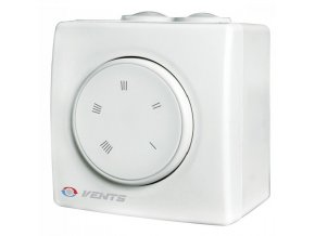 Regulátor otáček ventilátoru Vents RS-2.5-PS na omítku do 520W