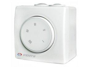 Regulátor otáček ventilátoru Vents RS-4.0-PS na omítku do 900W