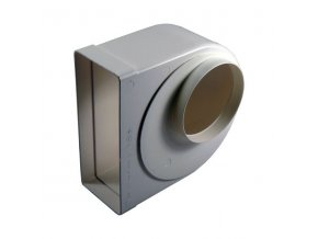 Redukce ohlá z průměru 125 na kanál 220x90/90 PVC 951