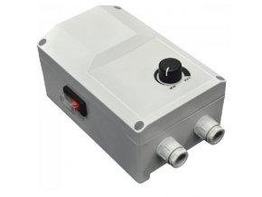 Regulátor otáček ventilátoru Vents RS-10.0-T na omítku do 2,3kW