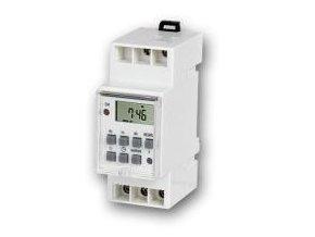 Spínací hodiny digitální na DIN lištu CS4-16