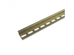 DIN lišta TS 35/1000 mm děrovaná