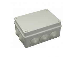 Krabice elektroinstalační 190x140x70 S-BOX 406 IP55