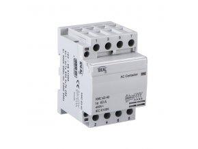 Stykač Kanlux KMC-63-40 4p na DIN lištu 3 fázový