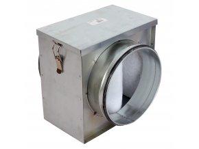 filtr vzduchu do potrubi pro zachytavani necistot o 160 mm 694 1