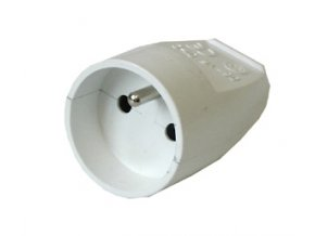 Zásuvka spojovací 230V/16A DAN KGP-1