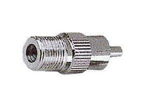 Konektor F redukce F zásuvka - CINCH vidlice