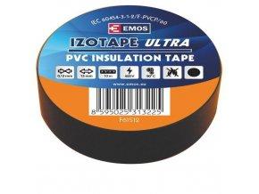 Izolační páska PVC 15mm / 10m černá