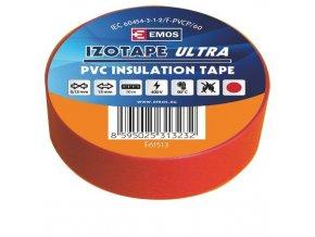 Izolační páska PVC 15mm / 10m červená