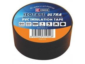Izolační páska PVC 25/10 černá