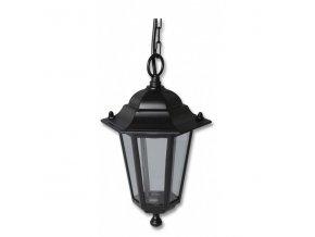 Světlo venkovní černé, Lucerna Z6105-CR závěsná