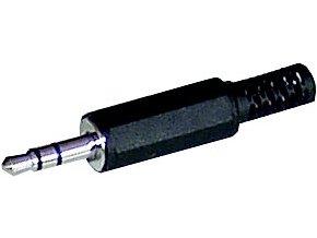Konektor Jack vidlice 3,5 stereo plast