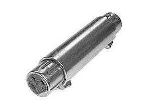 Konektor Canon spojka XLR 3p 2 x zásuvka