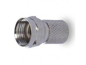 Konektor F vidlice satelitní šroubovací 6,5 mm