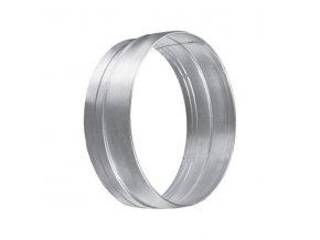 Spojka pro kruhové flexo potrubí PM 125 mm kovová Zn