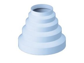 Redukce pro kruhové potrubí   80/100/125/150 mm PVC 310p