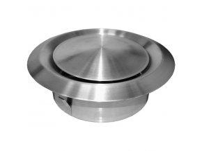 Anemostat nerezový talířový ventil 100 mm AM100VRF Nerez