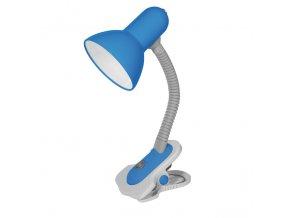 Stolní lampa SUZI HR-60-BL modrá, E27