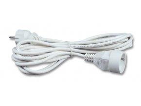Prodlužovací kabel 10m/1zásuvka 3x1,0 bílá