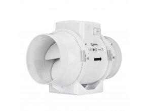 ventilator do potrubi axialni plastovy s prepinacem rychlosti o 160 mm 393 1