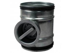 zpetna klapka manualni s tesnici gumou o 160 mm 938 1