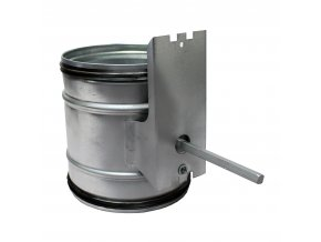 zpetna klapka do potrubi uzaviraci pro servopohon o 160 mm 930 1