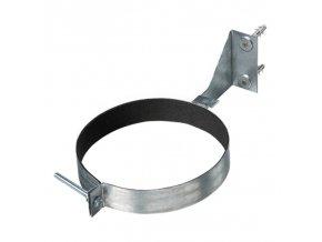 upevnovaci svorka pro vzduchovod s drzakem o 160 mm 967 1