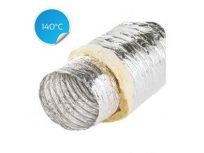 izolovane ventilacni potrubi alitsono 125 5m 140st