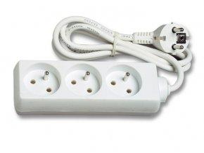 Prodlužovací kabel  3m 3 zásuvky 230V
