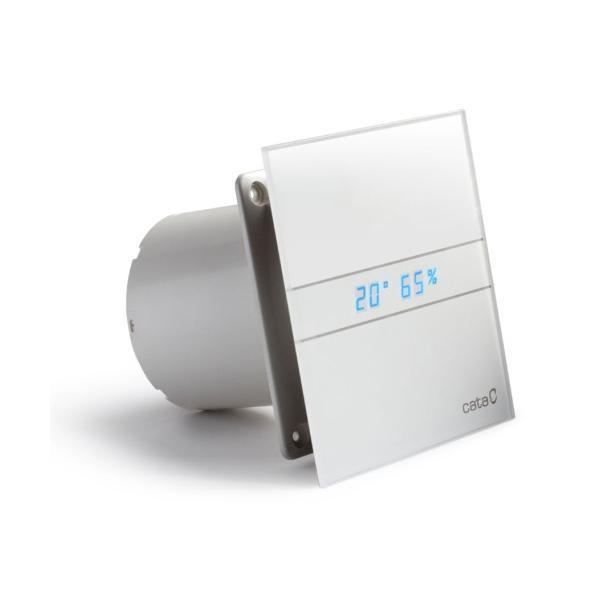 Ventilátor Cata e100 GTH časovač, senzor vlhkosti