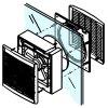 Ventilátor Cata B23-RA s reverzací chodu