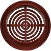 Větrací mřížka kruhová VM 50 H hnědá /4 kusy 50mm