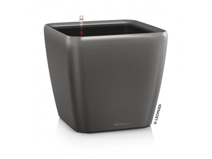 Lechuza Quadro LS 21 cm (kompletní set) - antacit