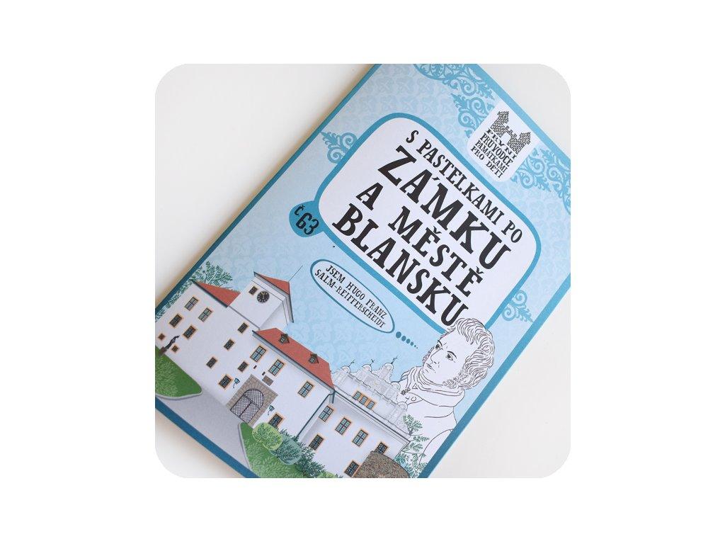 S pastelkami po zámku a městě Blansku
