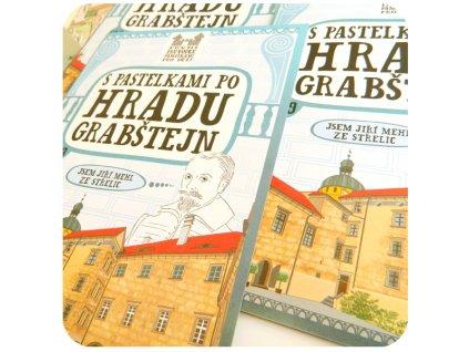 e-S pastelkami po hradu Grabštejn