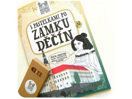 S pastelkami zámku Děčín