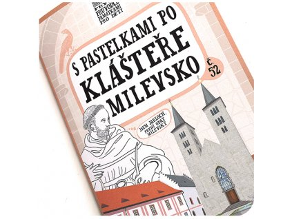 S pastelkami po klášteře Milevsko